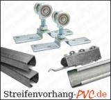 Schiebevorrichtung für PVC Streifenvorhänge