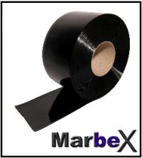 50m PVC Schwarz 300x3mm