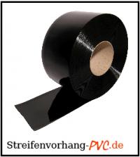 PVC Lamellenvorhang Schwarz
