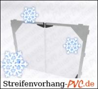 PVC Pendeltürplatte für Tiefkühlräume