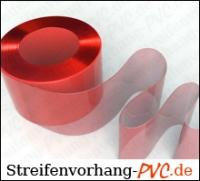 PVC Rollen Schweißervorhänge Rot