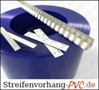 PVC Streifenvorhang / Bausatz