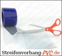 PVC Meterware transparent 400x4 mm