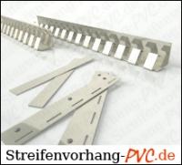 PVC Streifenvorhang 3,25m Breite x 3,25m Länge