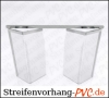 PVC -  Falttor Platten für Kühlräume