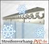 Tiefkühl PVC Streifenvorhang 4,00m Breite x 3,50m Länge
