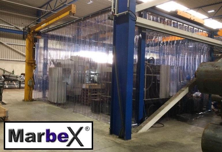 Industrievorhang PVC für den Innen Industriebereiche in Hallen