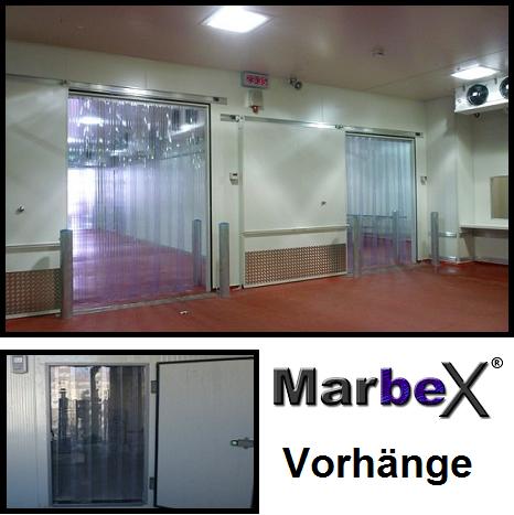 Vorhang Kühlhaus, Tiefkühlhaus Kälteschutz Streifenvorhang