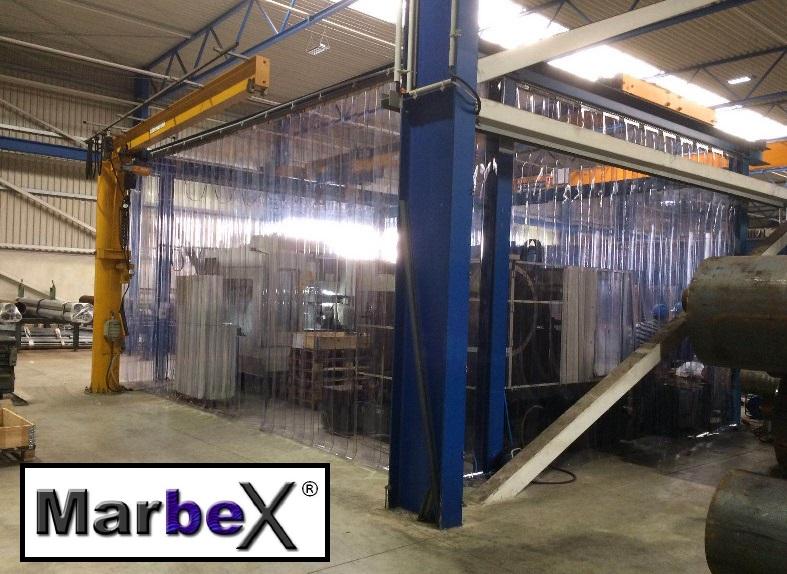 Industrievorhänge Kunststoff Transparent