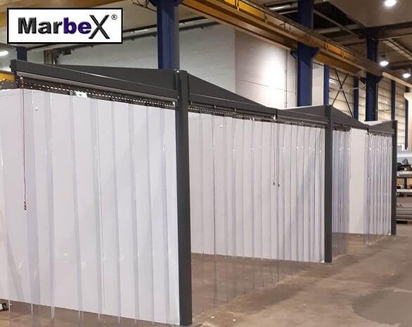 Industrievorhang für Hallen und für die Industrie